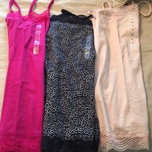 BRAND NEW Ann Taylor cotton camis - 3